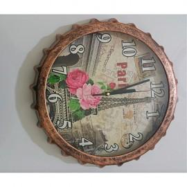 Décor Fitch Horloge murale - 30x30 cm