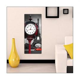 Table de loisirs avec horloge _ 30 x 70 cm -One pièce