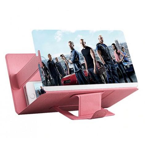 Universel 3D Écran Loupe Pliable 8 pouce Portable Mobile téléphone Vidéo Loupe Écran HD Amplificateur Expander Stand Titulaire