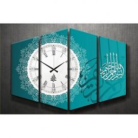 Tableau with horloge - 4 pièces