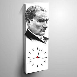 Table de loisirs - 30x70 cm avec horloge