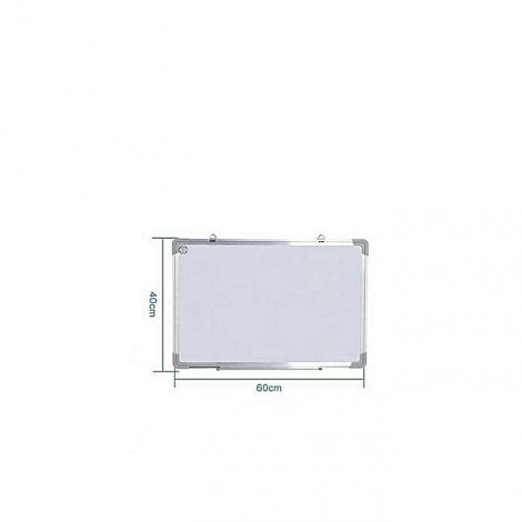Tableau magnétique blanc 40 cm x 60 cm