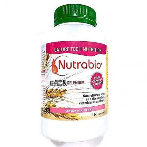 Nutrabio Nutrabio Nutrabio- levure de bière+ sélénium 160 comprimés