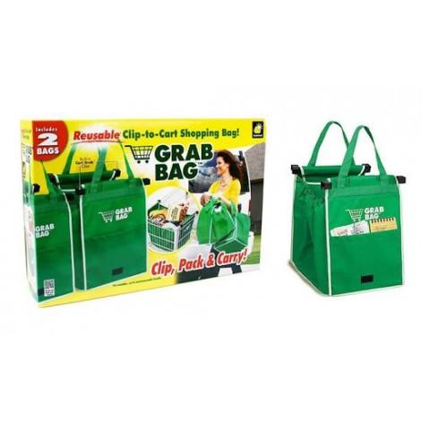 Grab Bag Shopping Bag - 2 Pack
