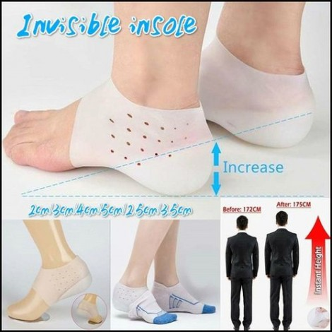 Semelle invisible augmente votre taille