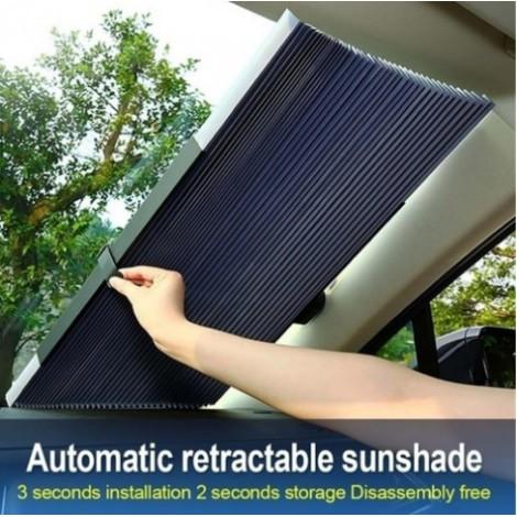 Retractable Car Windshield Sun Shade