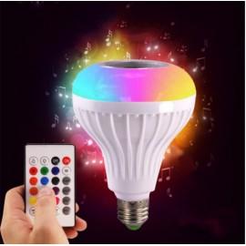 Coloré musique ampoule sans fil Bluetooth