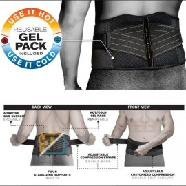 Copper Fit Rapid Relief Back Support