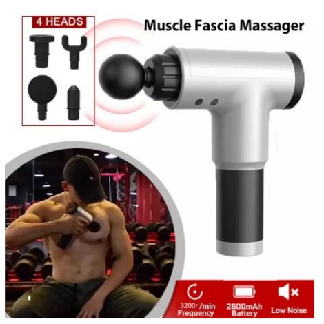 massage gun deep relaxation of muscles