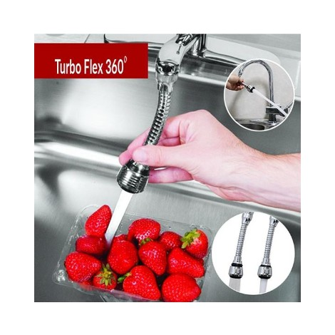 Turbo Flex 360 Évier Robinet