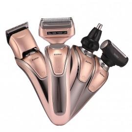 Kemei-tondeuse à cheveux multifonction 4 en 1 pour hommes