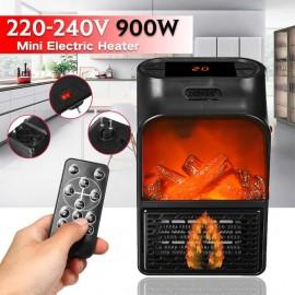 Ventilateur chauffant électrique 900W avec télécommande