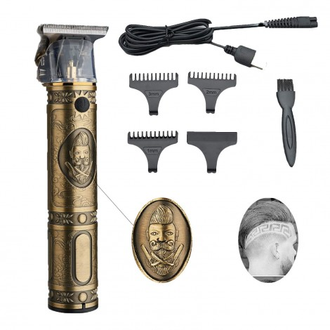 USB Rechargeable Cordless Hair Clipper