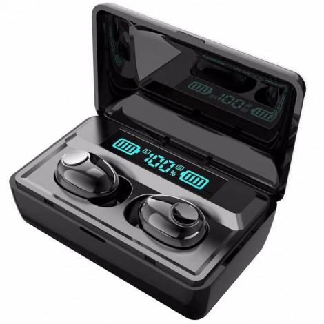 T8 TWS Bluetooth écouteurs 2200 mAh batterie externe