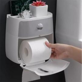 Distributeur mural de rouleaux de toilettes porte-papier hygiénique étanche