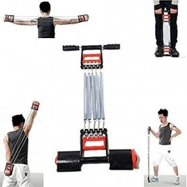 3 en 1 barres de traction exercice à ressort élastique