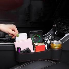 Console de voiture siège lacunes boîte de rangement