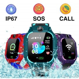 Q19 positionnement écran tactile caméra téléphone enfants montre intelligente