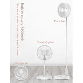 Mini ventilateur pliable rechargeable par USB