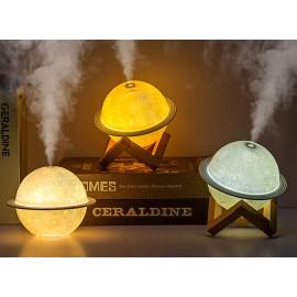 New Moon Humidifier Beautiful Planet Diffuser