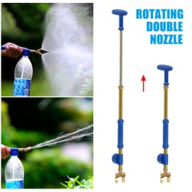 rotating double nozzle