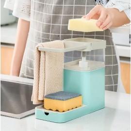 distributeur de savon à vaisselle multifonctionnel