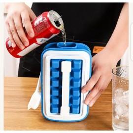 Bac à glaçons Portable en Silicone