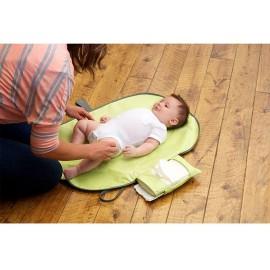 Multi-function diaper pad portable pliable