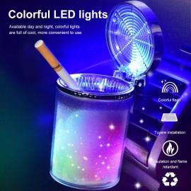 Cendrier de voiture avec éclairage LED