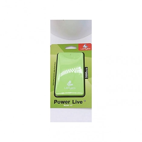 Original Portable Ultra doux Powerbank 5000mAh